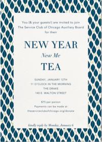 SC Tea Jan. 12