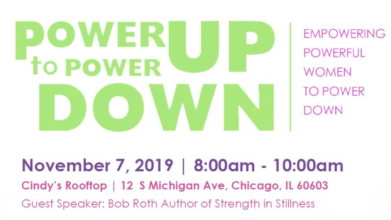 Power Up to Power Down--Saudia Davis
