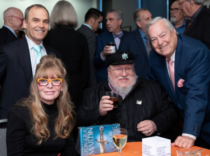 Image13_Donna La Pietra  Author George R. R. Martin and Bill Kurtis at CSLA 2019 - Photo Credit Lynn Renee Photography