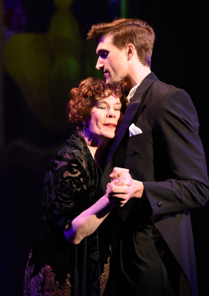 Hollis Resnick and Billy Rude in Porchlight Music Theatre's Sunset Boulevard