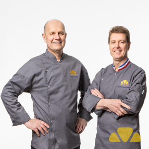 Chefs Jacquy Pfeiffer and Sebastien Canonne
