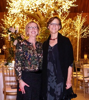 Woman's Board President Judy Konen of Winnetka and Chicago Botanic Garden President & CEO Jean Franczyk of Chicago