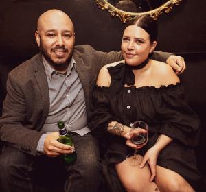 Kristi Beck and Martin Frederick