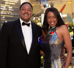 Gala Host Committee Co-Chairs Dr. Kimbra Bell Balark and Sam Balark_Jackie Guataquira  Museum of Science and Industry