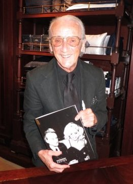 Victor at book signing