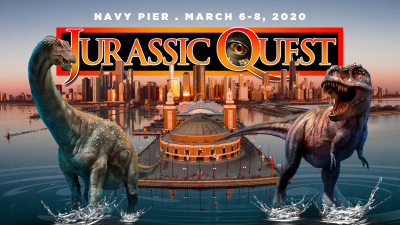 Jurassic Quest March 6-8