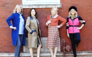 Kathy Cook  Hanah Bae  Heather Jane Johnston and Sherry Abrahams in Etcetera.