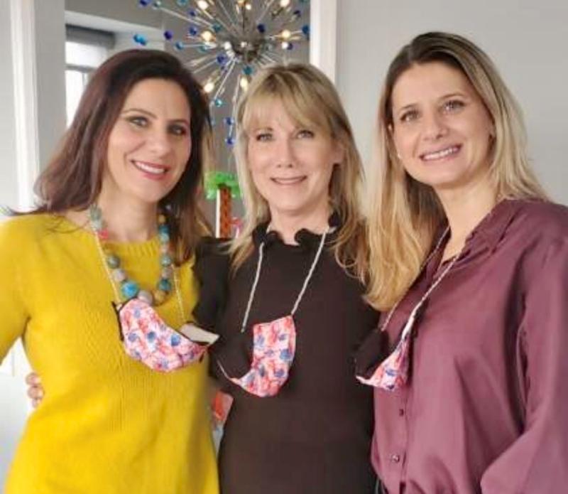 Simona Garcia  Pam Capitanini and Cristina Montgomery