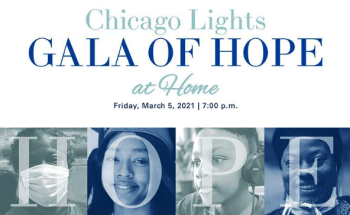 Chicago Lights Gala of Hope at Home Mar. 5