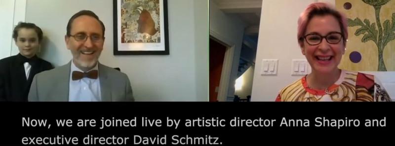 Anna Shapiro and David Schmitz