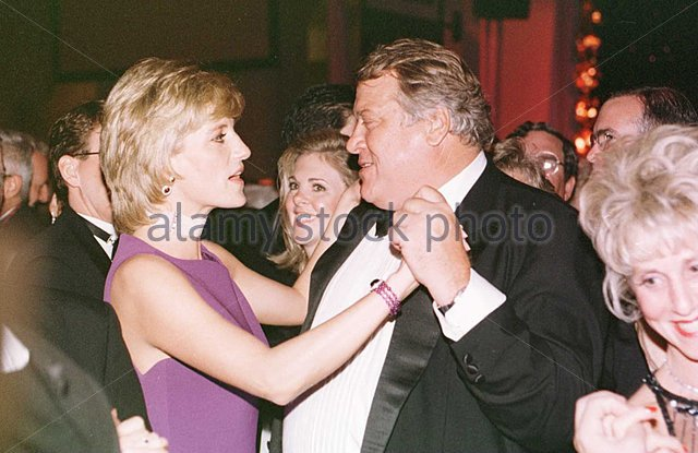 Mike Wilkie and Princess Diana 1996