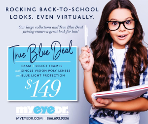 MyEyeDr package for back to school