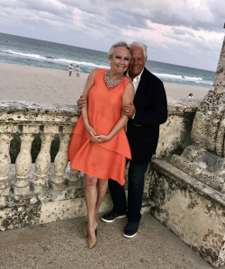 Candace and Chuck in Palm Beach