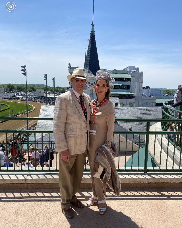 Jonathan Grabill and Susan Gohl at Derby.