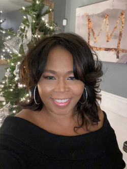 Dionne Williams holiday photo