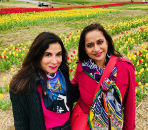Tracey Tarantino DiBuono and Sapna Rathi.