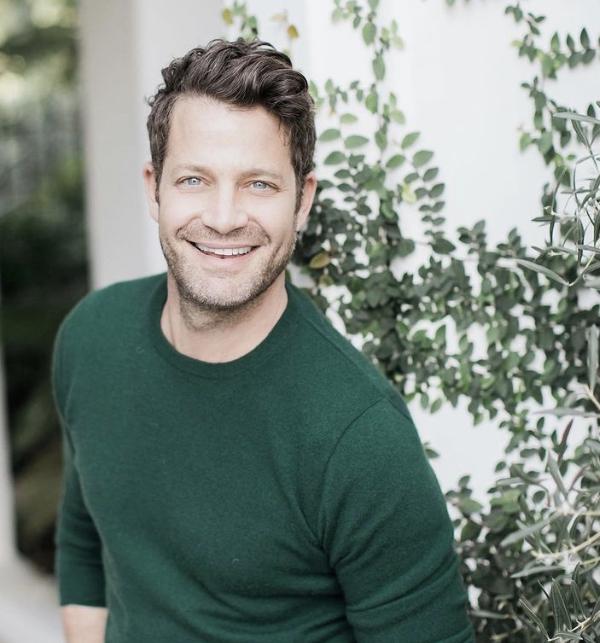 Interior designer  author and TV star Nate Berkus.
