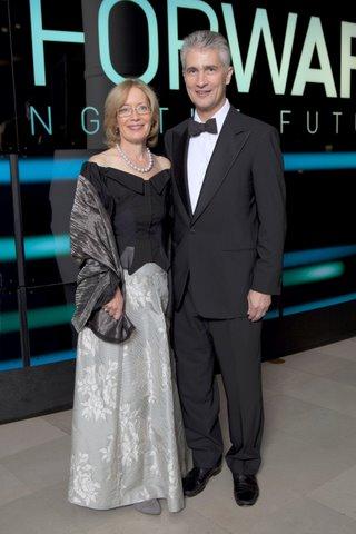 Dr. Diana Strassmann and Jeff Smisek
