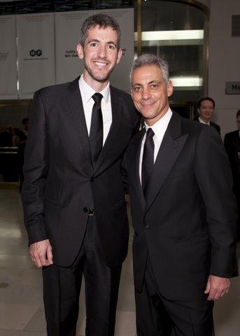 Kevin Byrne & Mayor Rahm Emanuel