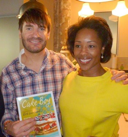 Honoree Chef Eric Lanlard and Latesha Rose