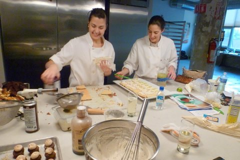 Table 52 Pastry Chefs Geovanna Salas and Celeste Campise