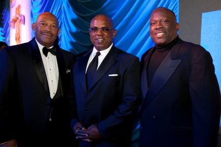 Boeing's James Bell, Jerome Russell and Mesirow's Les Coney