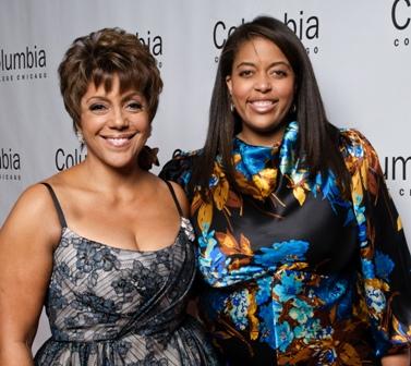 Honoree Linda Johnson Rice and daughter Alexa